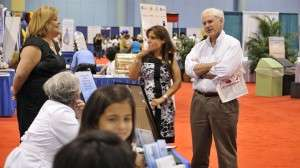 Dr. Mark Young Helping at Expo