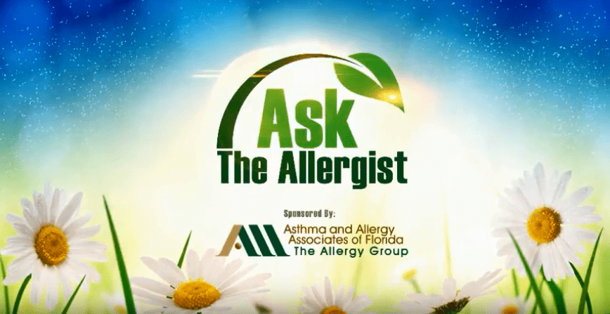 "Think you have hay fever? Allergist at South Florida's ""The Allergy Group"" Explains"
